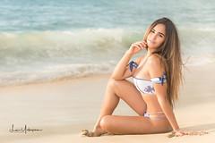 Natalie @ Makua Beach 09 (JUNEAU BISCUITS) Tags: swimsuit swimwear bikini fitness hawaii hawaiiphotographer nikon glamour beauty portrait portraiture model femalemodel