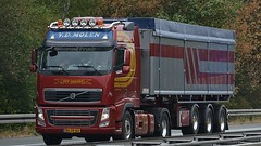 NL - V.D. Molen Volvo FH GL03 (BonsaiTruck) Tags: molen volvo lkw lastwagen lastzug truck trucks lorry lorries camion caminhoes