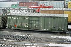 CB&Q Class XML-16 20827 (Chuck Zeiler54) Tags: cbq class xml16 20827 burlington railroad boxcar box car freight cicero train chuckzeiler chz