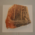 EH II sherd with incised Cycladic longboat, from Orchomenos thumbnail