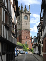 Photo of Shrewsbury - Fish Street looking towards St Julian