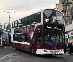 Lothian Buses 829 SK07 CAU (05.11.2018) (CYule Buses) Tags: service10 wrighteclipsegemini transportforedinburgh lothianbuses sk07cau 829