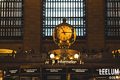Grand Central Terminal | Clock on the Concourse (Leelum.com) Tags: usa 2018 newyork unitedstates america city nyc new york cityscape manhattan clock train grandcentralstation grandcentralterminal concourse
