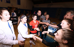 IMG_8391 (SJH Foto) Tags: girls high school volleyball garden spot palmyra regional semifinals canon 1018 f4556 stm superwide lens pregame ceremonies ref referee captains coin toss