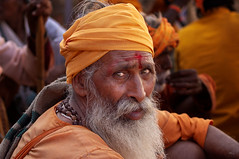Pushkar. Rajasthan. India (Tito Dalmau) Tags: portrait man sadhu pushkar rajasthan india