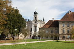 Burghausen: Kloster Raitenhaslach (Helgoland01) Tags: burghausen bayern deutschland germany oberbayern kirche church raitenhaslach kloster zisterzienser barock