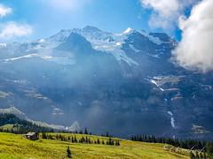 Kleine Scheidegg (olle.graf) Tags: 2018 olle berneroberland d3300 nikon schweiz september wengen switzerland berge eis ice jungfrau mountain schnee snow lauterbrunnen bern