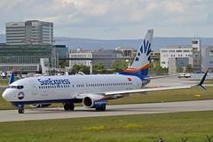 SunExpress TC-SOG Boeing 737-8HC Split Scimitar Winglets cn/61179-6383 @ EDDF / FRA 30-04-2018 (Nabil Molinari Photography) Tags: sunexpress tcsog boeing 7378hc split scimitar winglets cn611796383 eddf fra 30042018