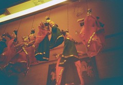 Puppets at City Palace (SEAs of FIREs, I have them in my EYEs!!!) Tags: lomography redscale lomolca kodakgold200 vignetting toycameras alternativephotography