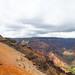 Red sand Waimea Canyon Park Kauai, Hawaii
