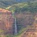 Waipoo Falls Waimea Canyon Park Kauai Hawaii