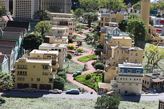 """Lego San Francisco in Miniland at Legoland California • <a style=""""font-size:0.8em;"""" href=""""http://www.flickr.com/photos/28558260@N04/45391619145/"""" target=""""_blank"""">View on Flickr</a>"""