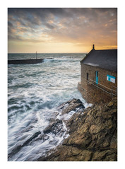 The Old Lifeboat House (Rich Walker Photography) Tags: porthleven cornwall sea seascape seascapes ocean water waves landscape landscapes landscapephotography sky sunset coast coastline coastal harbour harbourside canon england efs1585mmisusm eos eos80d