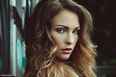 Magnetic (Andreas-Joachim Lins Photography) Tags: evelina fashion portrait face headshot closup beauty beautiful pretty glamour outdoor shooting hair porträt