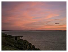 brean-down-sunset-1100621-090119 (Peadingle) Tags: sunset dusk brean down fort somerset
