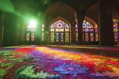 Nasir al Molk mosque (Robin Geys) Tags: iran nikon d90 persia nasir al molk mosque shiraz tokina atx 1224mm f4