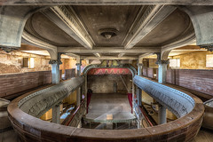 Levels (Brian Precious Decay is BACK!) Tags: abandoned decay derelict forgotten lost lostplaces precious preciousdecay hdr architecture interior design light symmetry urbex urban exploring explore explorer abandonment creative grime inspiration theatre theater pool swimming swimmingpool sport sports hotel motel bed bedroom sleep show musical performance cinema movie movies disco nightclub club party music dance dancing weekend holiday camp vacation