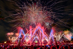 Epcot - Countdown to 2019 (Jeff Krause Photography) Tags: 2018 countdown countries crowd disney epcot eve fireworks global illuminations lagoon nye new promenade showcase wdw walt world years orlando florida unitedstates us