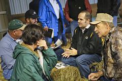 x decker use3 (geistli) Tags: agriculture cow cattle fieldday event education talk ag farmer genetics