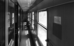 (cherco) Tags: woman girl train vanishingpoint windows blackandwhite blancoynegro lonely light luz lines loner alone aloner bulgaria tunnel composition canon composicion city ciudad chica canoneos5diii calle street solitary solitario silhouette silueta shadow sombra