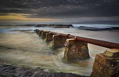 Port Kembla Pipe - South Coast - NSW (paulbartle - Shot2frame Photography) Tags: portkembla wollongong pipe moodymorning southcoast illawarra canon canon5dmk3 nisi nisifilters nsw newsouthwales pacificocean tasmansea portkemblapool hill60 shot2frame shot2framephotography