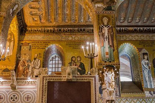 Sizilien 2018 - Palermo - Cappella Palatina