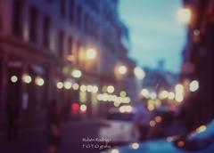 Fascination street (Mister Blur) Tags: fascination street old vieux montreal blur desenfoque blurry lights blue hour snapseed nikon d7100 35mm rubén rodrigo fotografía