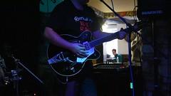 SNL_0063 (richardclarkephotos) Tags: ©richardclarkephotos richard clarke photos ruzz evans guitars blues revue gretsch double bass mike hoddinott joe allen three horseshoes bradford avon wiltshire uk drums album heist