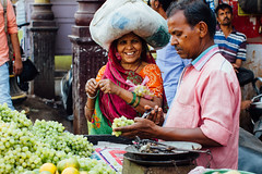 Woman Buying Grapes, Varanasi India (AdamCohn) Tags: adam cohn ganga ganges india uttarpradesh varanasi grapes market stall streetphotographer streetphotography vendor woman wwwadamcohncom adamcohn