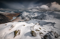 Mighty Snowdonia (Einir Wyn Leigh) Tags: snow landscape winter mountains solace clouds atmosphere outside walking wales uk nationalpark love happy