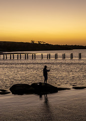 Clifton Springs Sunset-7 (Quick Shot Photos) Tags: bellarine canon cliftonsprings jetty oldpier sunset victoria australia au