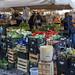 Kisten mit Gemüse auf dem Markt in Rom