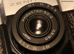 I is for Industar (Retro Photo International) Tags: macromondays vowel i industar 502 35 lens carl zeiss jena tessar zenit 50mm macro kmz