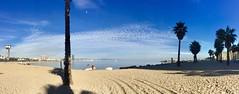 """Instante de paseo"" (atempviatja) Tags: mar cielo paseo nubes fotografia playa barceloneta barcelona maritimo sand"