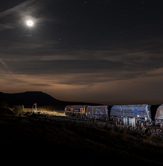 Moonshine (Robert France) Tags: 2018 66 667 66716 aggregate aggregates bleamoor britain class66 dales dark darkness diesel electromotive emd england eqt eqtinfrastructure freight freighttrain gbrailfreight gbrf generalmotors gm goods haulage hauling hectorrail hectorrailgroup ingleborough loco locomotive locomotives night nightfreighttrain nighttrain rail railfreight railroad rails railway railways rural sc settlecarlisle settleandcarlisleline settletocarlisle settletocarlislerailway stone train trains transport uk unitedkingdom yorkshire yorkshiredales yorkshiredalesnationalpark photograph photographs photography creative progressive artistic railwayphotography railwayphotograph railwayphotographs