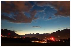 With The Last Light Available (galvanol) Tags: axams impression olivergalvan alpine alpsintyrol austria eveningmood panorama evening summer panoramic bluehour summermood tyrol sky blue galvanol sunset sundown