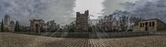 Debod (*Nenuco) Tags: jesúsmr madrid panrámica spain españa nikon d5300 nikkor 18105 templo debod nubes clouds sun sol