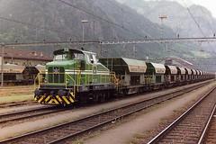 MAKIES AG GETTNAU LOK 1 (bobbyblack51) Tags: makies ag gettanu 060 diesel shunter lok 1 erstfeld yard 1994