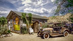Hop In The Jalopy (emiliopasqualephotography) Tags: route66 hackberry az jalopy shack skies clouds rural vintage
