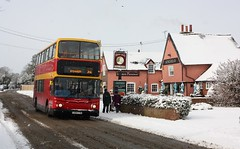 Beast from the East (Chris Baines) Tags: ipswich buses dennis trident alexander alx 400 number 8 92 service manningtree