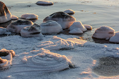 Frozen sea and rocks (a_ey) Tags: stone rock natural winter finland water nordic beauty cold swirl beautyful freezen ocean winterphotography texture light nature naturephotography sunlight shadow snow sea ice