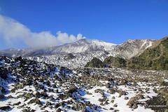 Etna _ inside Valle del Bove (piero.mammino) Tags: etna sicilia sicily valle valley bove neve snow cielo sky vulcano volcano caldera rocce rocks fumo vapore steam smoke