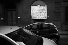 L1045776 (Daniele Pisani) Tags: lenzuola signa protesta smog traffico code file lastra nebbia fuomo fumo strada