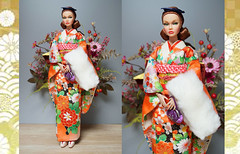 Coming-of-age ceremony kimono (Rock Wan FR) Tags: poppyparker fashionroyalty fashiondoll integritytoys girltalk