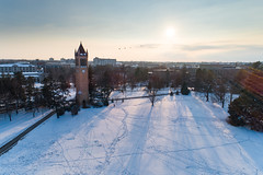 2019 - January - CHS - Snowy Winter Break Sunday-211-HDR.jpg (ISU College of Human Sciences) Tags: building winter forker campus buildings foodsciencebuilding morrill snow lagomarcino ringoflife drone campanile scenic palmer fshn chs mackay beauty