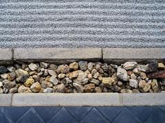 On the edge (Tim Ravenscroft) Tags: zen garden margin rock textures kodaiji kyoto japan hasselblad hasselbladx1d