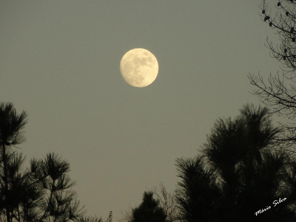 Águas Frias (Chaves) - ... a lua cheia de janeiro ...