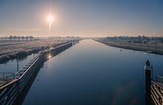 Maximakanaal (Ingeborg Ruyken) Tags: januari instagram january maximakanaal empel winter ochtend kanaalpark 500pxs natuurfotografie sun 2019 flickr zon