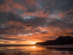 Sunset over Caswell Bay 2019 01 25 #58 (Gareth Lovering Photography 5,000,061) Tags: sunset sun sunny sunshine caswell gowercoast gower swansea wales seaside landscape beach walescostalpath olympus penf garethloveringphotography