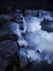 23/365: Ice on the Rocks (christiane.grosskopf) Tags: winter ice frozen pond day23365 23012019 3652019 january2019